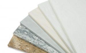 Variedad de acabados de Solid Surface