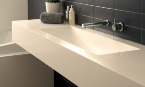 mueble baño solid surface